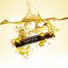 Olio naturale per capelli Nanoil