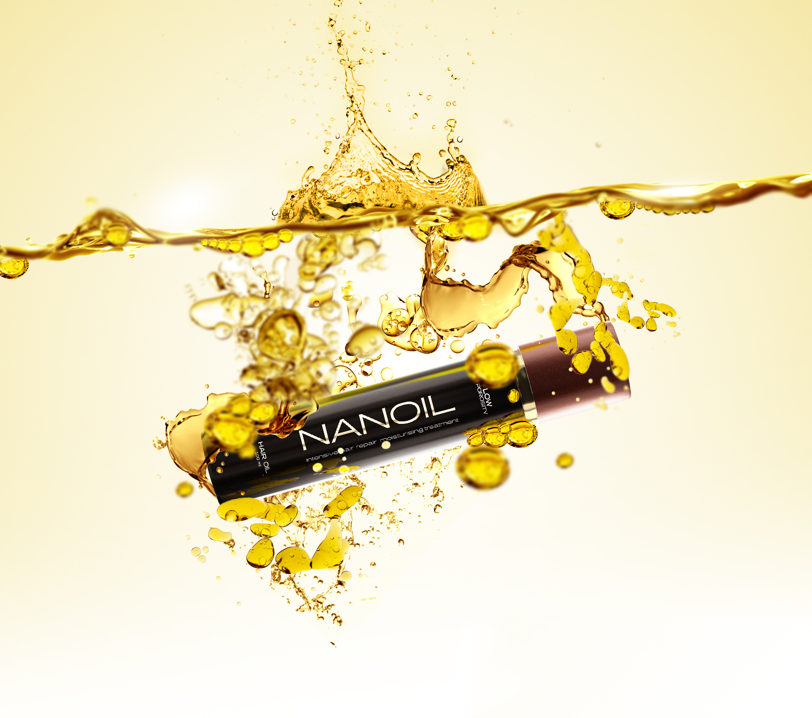 Nanoil. Il potere concentrato degli oli naturali per capelli
