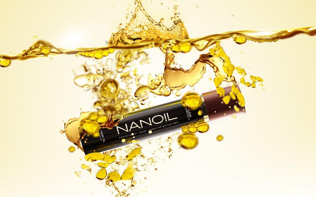 Olio per tutti i tipi di capelli - Nanoil
