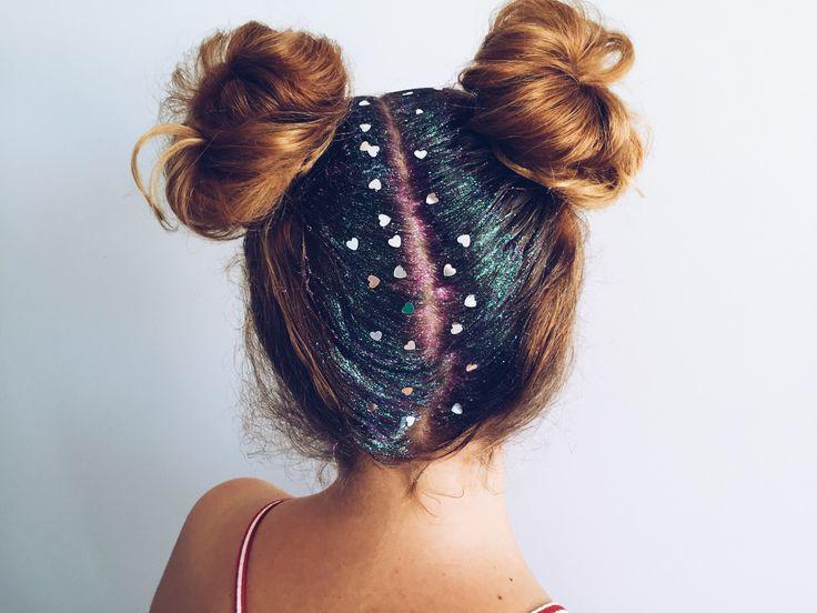 Glitter Hair: il look perfetto per il tuo Capodanno